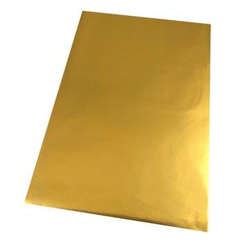 Saquinho Metalizado Presente - Dourado - 10 x 15 cm - SQ09