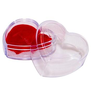 Caixinha Coração para Anel ou Brinco Pequeno- 1 UND - CX27