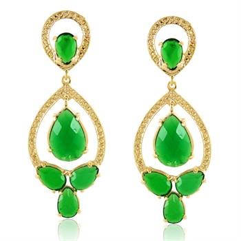 Brinco Pedra Verde - BR685