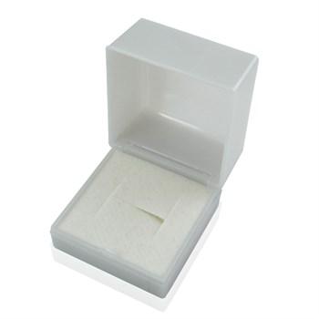 Caixa para Anel ou Alianças - Branco Perolado - CX07