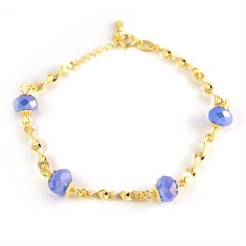 Pulseira Cristal Azul - PL36