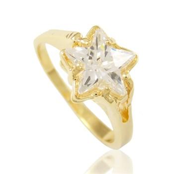 Anel Estrela Zircônia - AN152