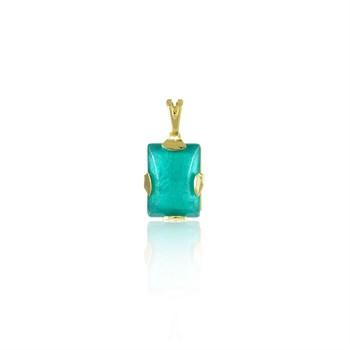 Pingente Pedra Verde - PG173