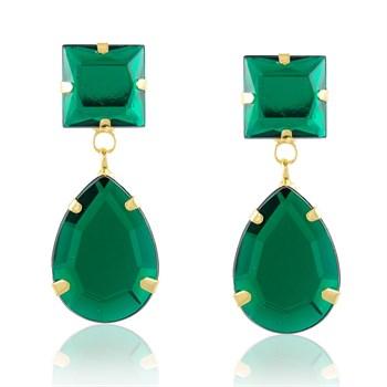 Brinco Pedra Verde - BR646