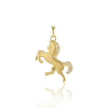 Pingente Cavalo cravejado Strass - PG134
