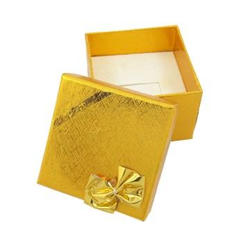 Caixinha Anel - Dourada - 5 x 5 cm - CX21