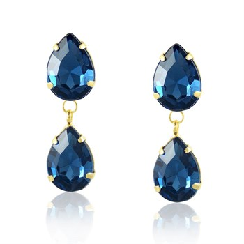 Brinco Pedra Azul - BR656