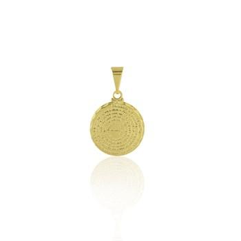 Pingente Medalha Pai Nosso - PG179