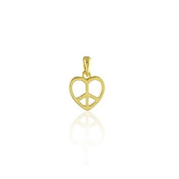 Pingente Coração da Paz - PG194