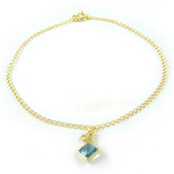 Tornozeleira Pedra Azul - TOR35