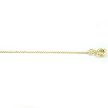 Corrente Bolinhas Diamantadas - 45 cm - CO38