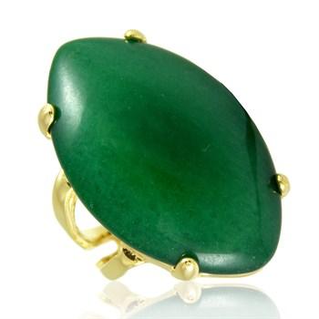 Anel Pedra Natural Verde - AN263