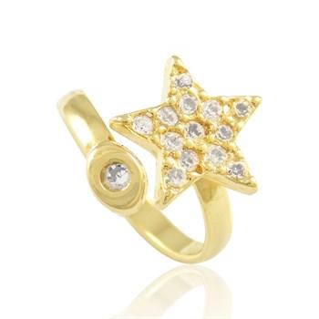Anel Falange Estrela - Regulável - AN105