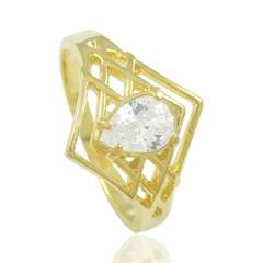 Anel Zircônia Semi joias Atacado  -  AN1303