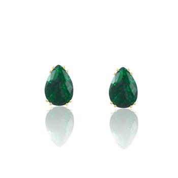 Brinco Pedra Fusion Verde - BR4589