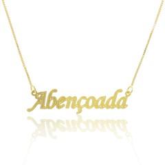 Gargantilha Abençoada Semi joias Atacado  -  GA1003