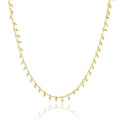 Gargantilha Bolinhas Semi joias Atacado  -  40 cm