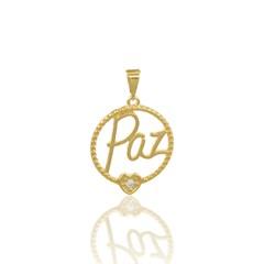 Pingente Paz Semi joias Atacado  -  PG489