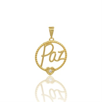 Pingente Paz - PG489