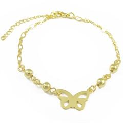 Pulseira Borboleta e Bolinhas Semi joias Atacado  -  PL1629