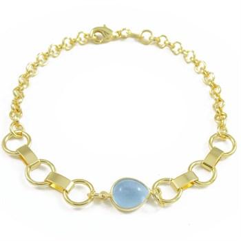 Pulseira Cristal Azul - PL1451