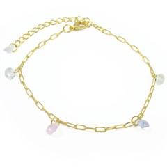 Pulseira Zircônias Coloridas Semi joias Atacado  -  PL1601