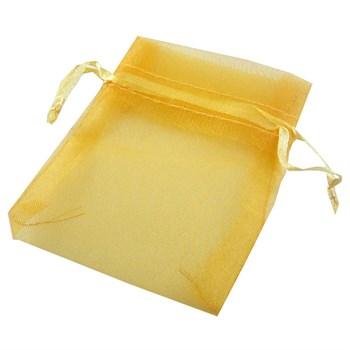 Saquinho Organza Dourado - 1UND - SQ42