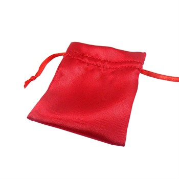 Saquinho de Cetim vermelho - SQ47