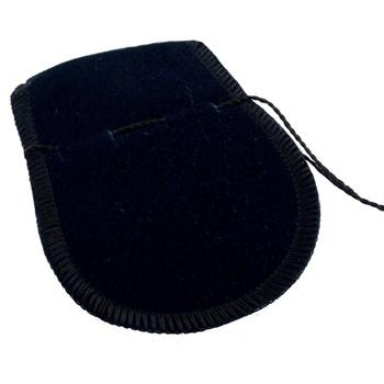 Saquinho de Veludo Preto - 5 UND - SQ23