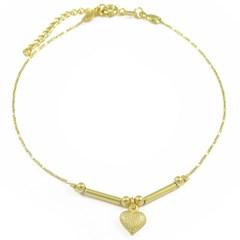 Tornozeleira Coração Semi joias Atacado  -  TOR249