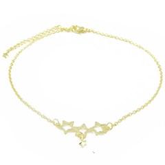 Tornozeleira Estrelas Semi joias Atacado  -  TOR238